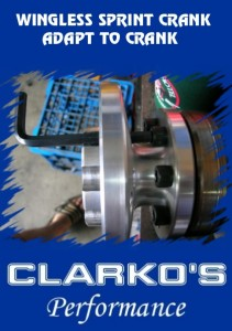 wingless crank adapture