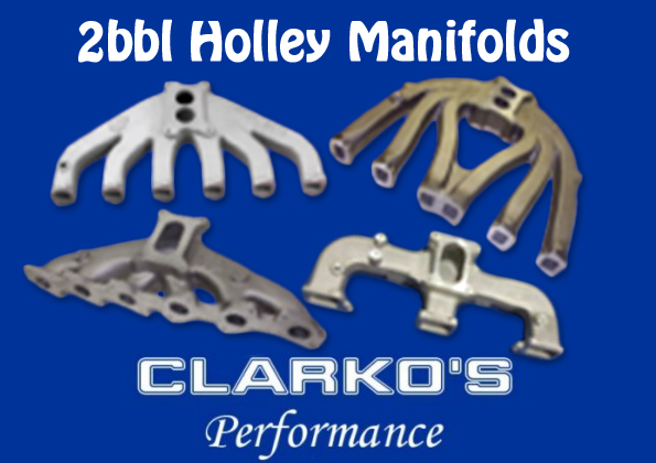 2bbl manifolds suit 6cyl & 8 cyl