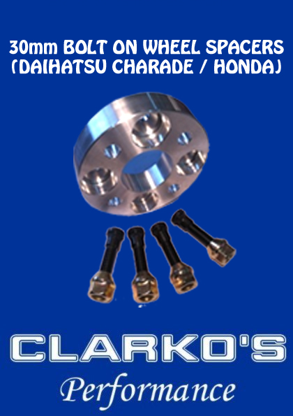 (Daihatsu Charade & Honda) Bolt on 30mm Wheel Spacer - with stud