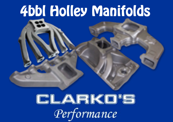 4bbl manifolds suit 6cyl & 8cyl