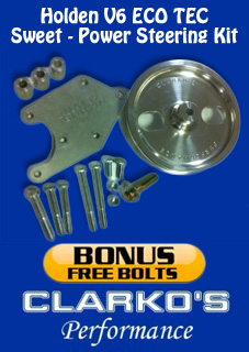 Holden V6 eco Power steering kits Sweet (Bracket/ spacers/pulley