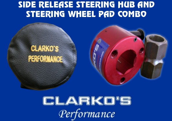 Steering Quick Release Hub (Side Release) & pad combo