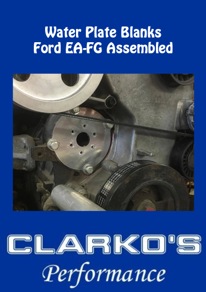 Ford EA- FG water Pump Blanking plates