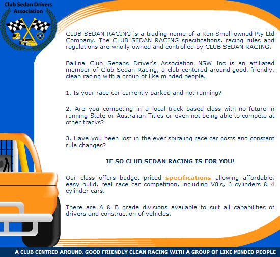 Club Sedan Drivers Assoc.