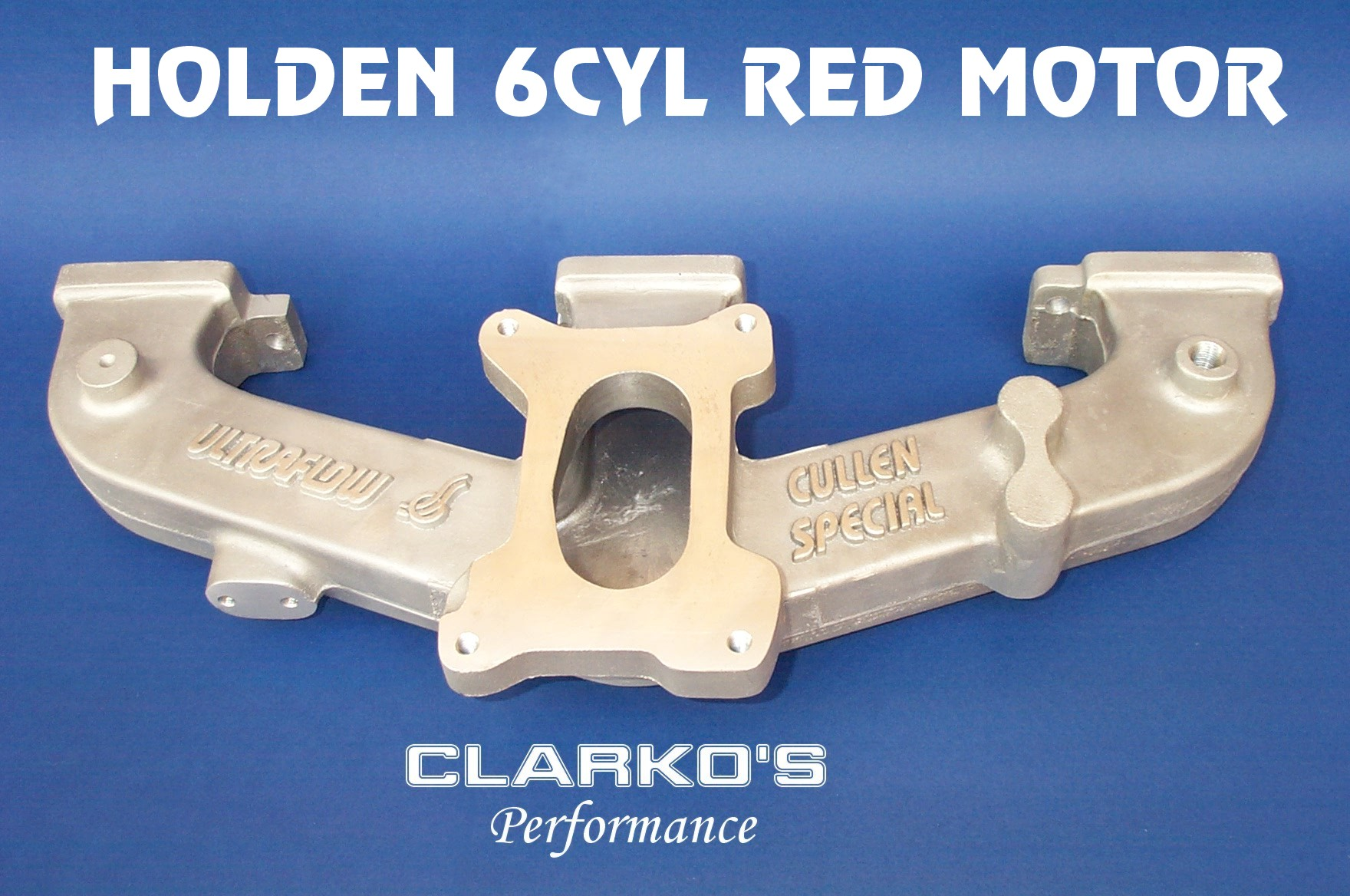 Holden 6 Cyl Red Motor Manifold - $450